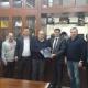 Reunión en el Ministerio de agricultura y recursos hídricos